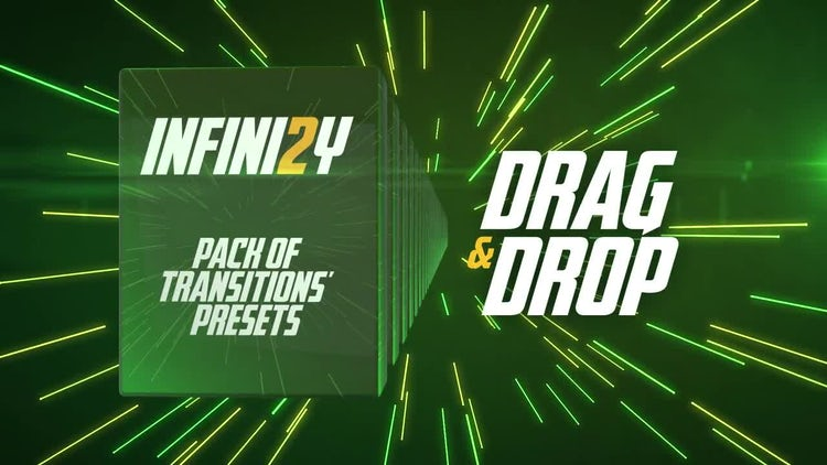 Infini2y. Pack of Transitions' Presets: Premiere Pro Presets