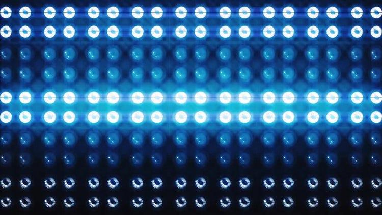 Led Light DJ Background: Motion Graphics