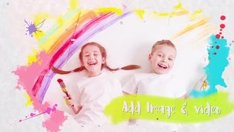 Happy Kids Gallery Slideshow: After Effects Templates