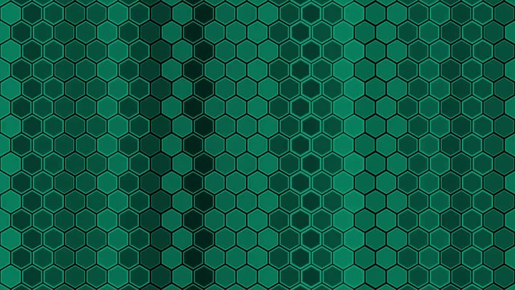 Hexagon Background: Stock Motion Graphics