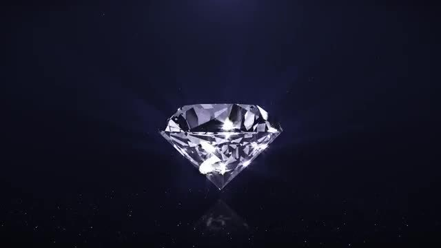 Sparkling Diamond: Stock Motion Graphics