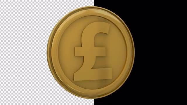 Pound: Stock Motion Graphics