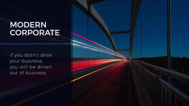 Modern & Minimal Corporate: After Effects Templates