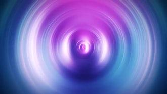 Pink-blue Vortex: Motion Graphics