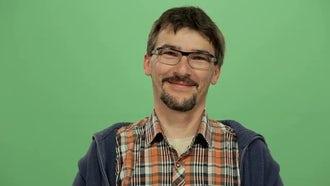 Man Smiling: Stock Video