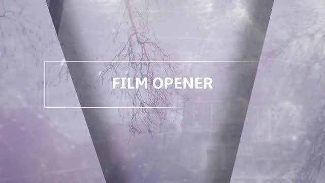 Cinematic Parallax Slideshow Opener : After Effects Templates