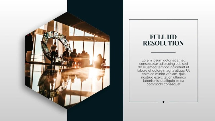 modern & clean presentation - after effects templates | motion array, Presentation templates