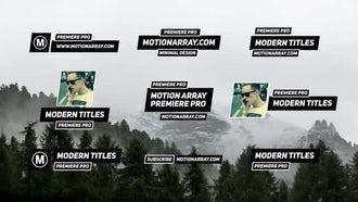Minimal Titles V3: Premiere Pro Templates
