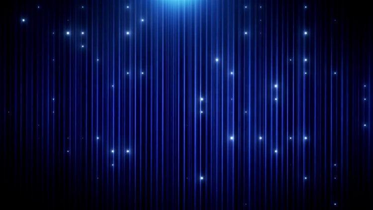 Blue Glitter VJ Background: Motion Graphics