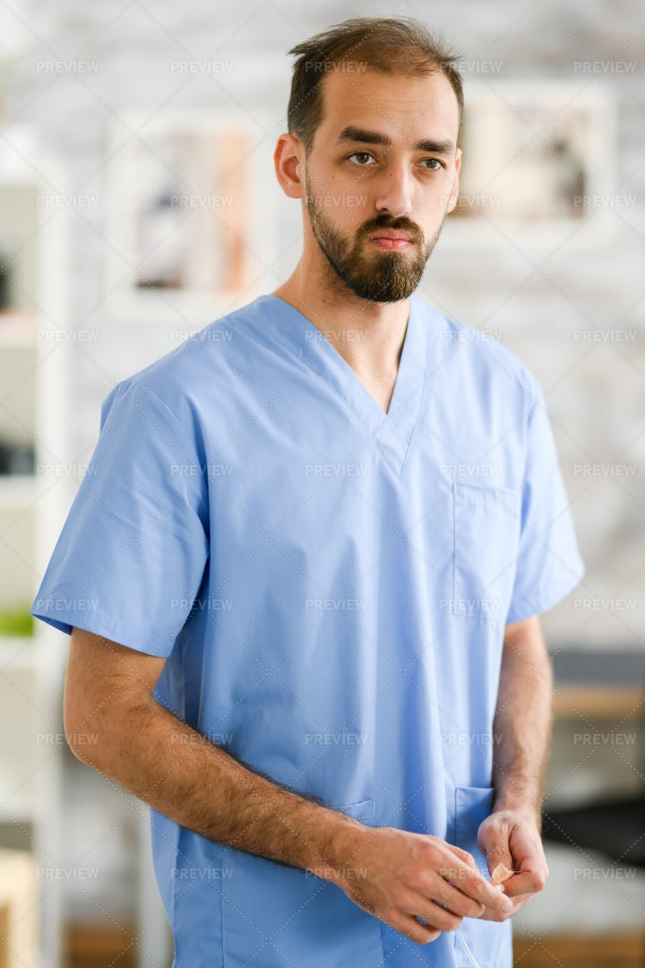 Portrait Of A Young Doctor: Stock Photos