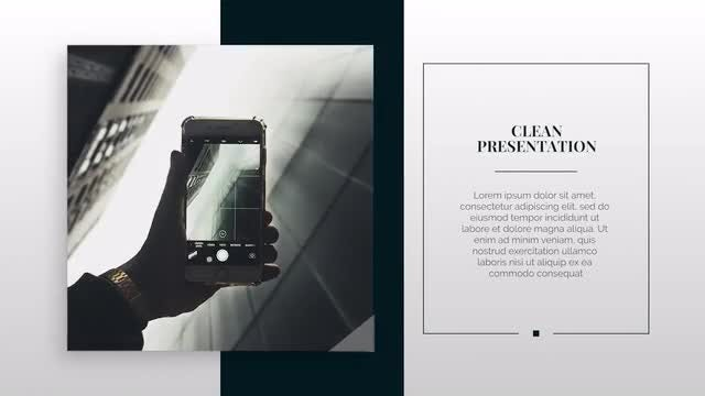 Modern Premiere Presentation: Premiere Pro Templates