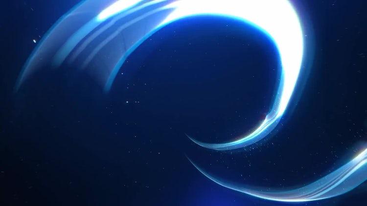Light Streaks Logo Reveal: Premiere Pro Templates