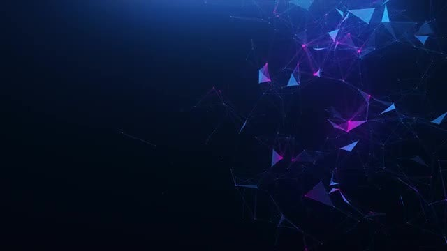 Blue-Violet Abstract Background: Stock Motion Graphics