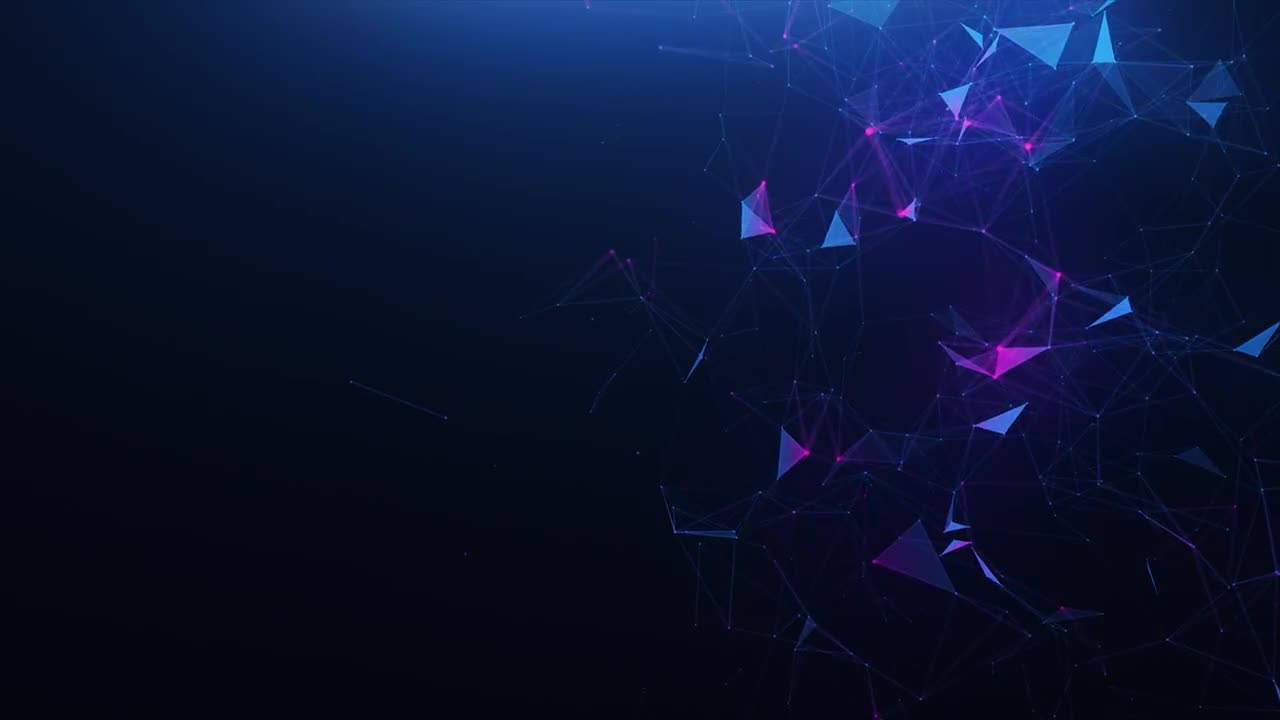 Blue Violet Abstract Background Stock Motion Graphics