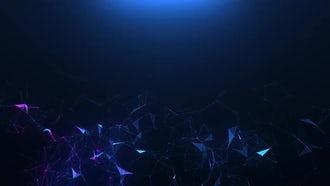 Blue-violet Plexus: Motion Graphics