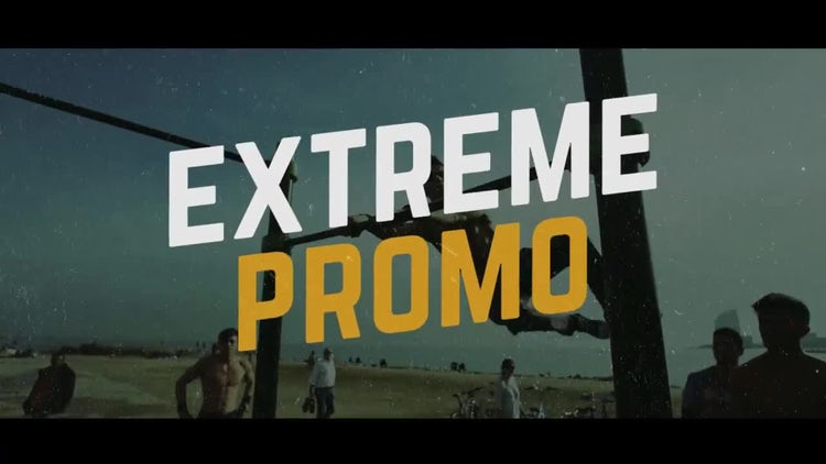 Workout Promo: After Effects Templates