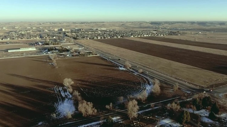 Aerial Road: Stock Video