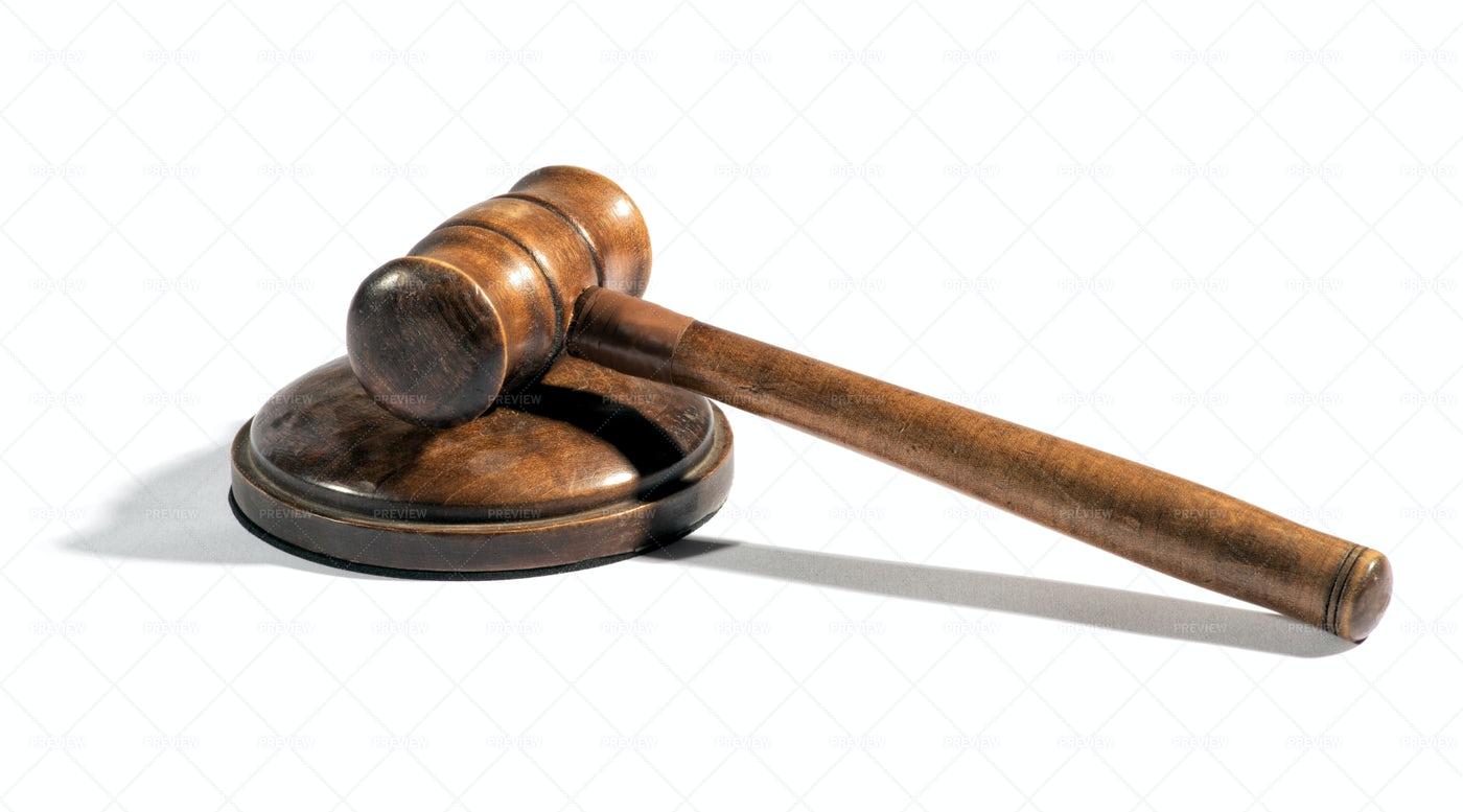 Judge Gavel: Stock Photos