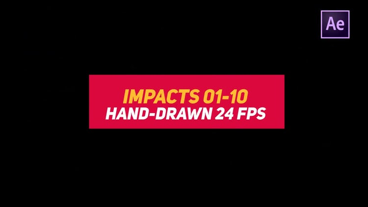 Liquid Elements Impacts 01-10: After Effects Templates