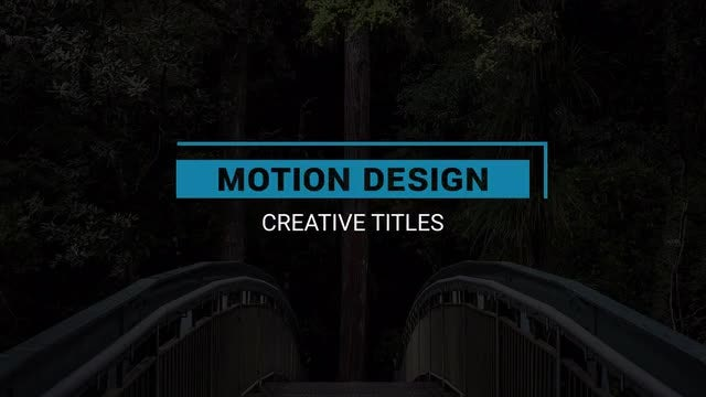 15 Titles: After Effects Templates