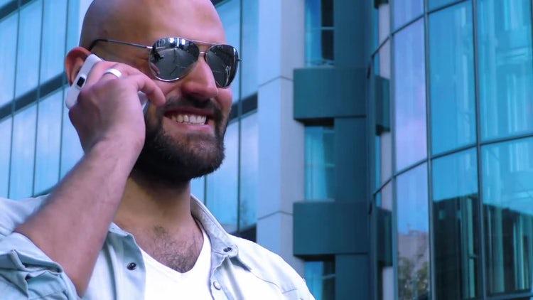 Man On Phone: Stock Video