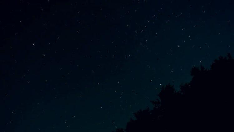Night Stars: Stock Video