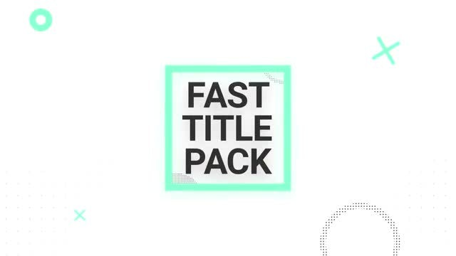 Fashion Titles Pack: After Effects Templates