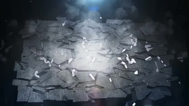 Destruction Logo Reveal: After Effects Templates