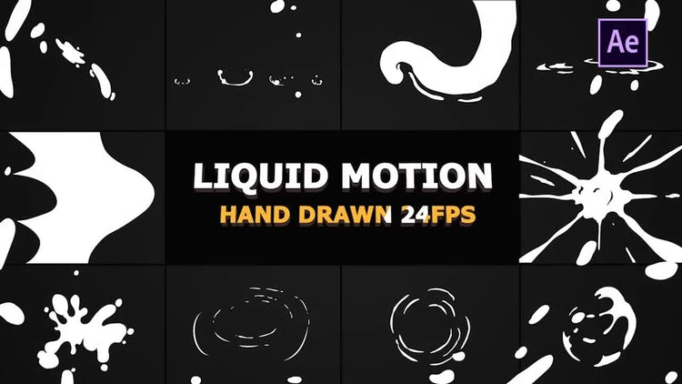 Liquid Motion Elements And Transitions: After Effects Templates