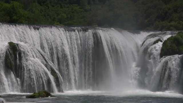 Waterfall Slow Motion: Stock Video