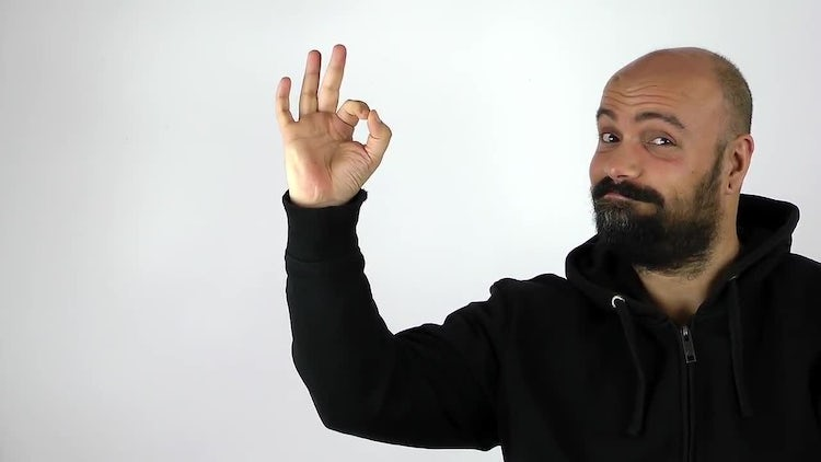Male Hand Gesture Expressions Pack: Stock Video