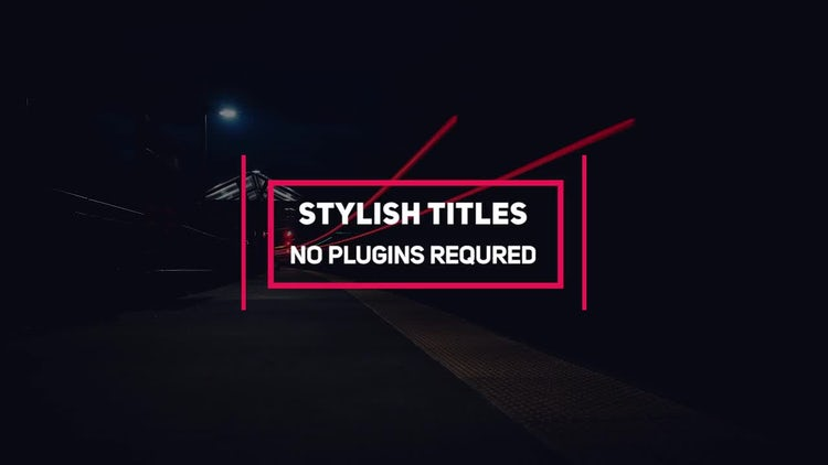 Minimal Titles Pack: Premiere Pro Templates