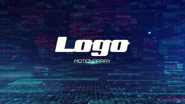 Digital Technology  Logo Reveal: After Effects Templates