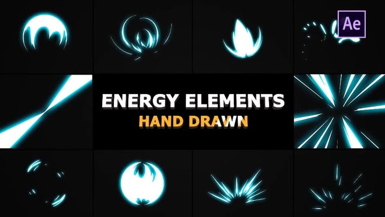 Energy Elements: After Effects Templates