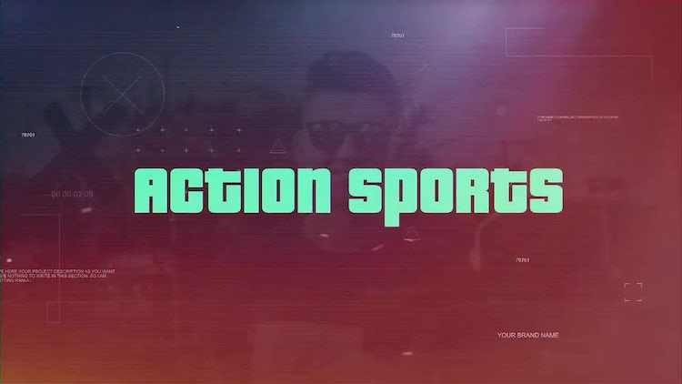 Action Sports: After Effects Templates