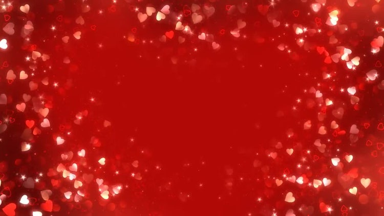 Hearts Background : Stock Motion Graphics