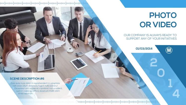 Company Timeline: After Effects Templates