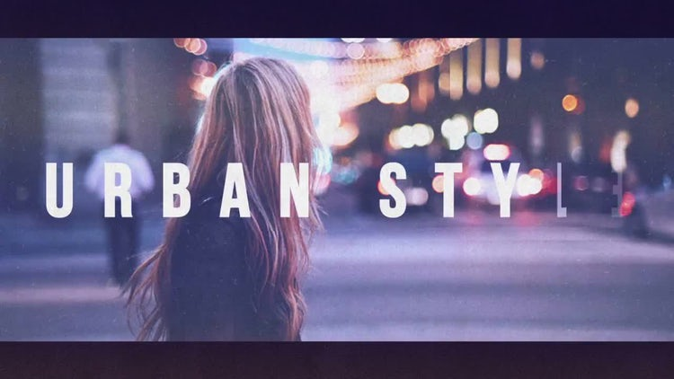 Urban Style Promo: After Effects Templates
