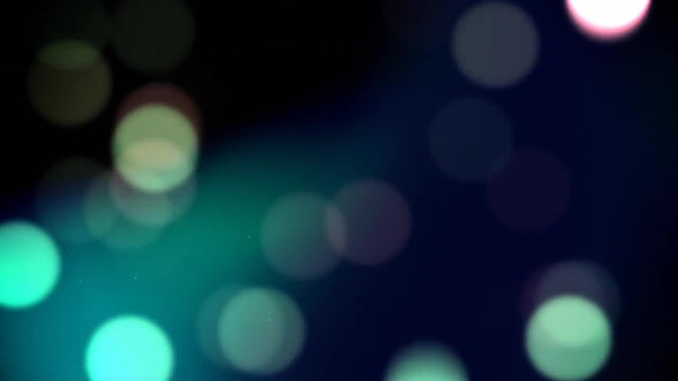 Blue Bokeh Loop: Stock Motion Graphics