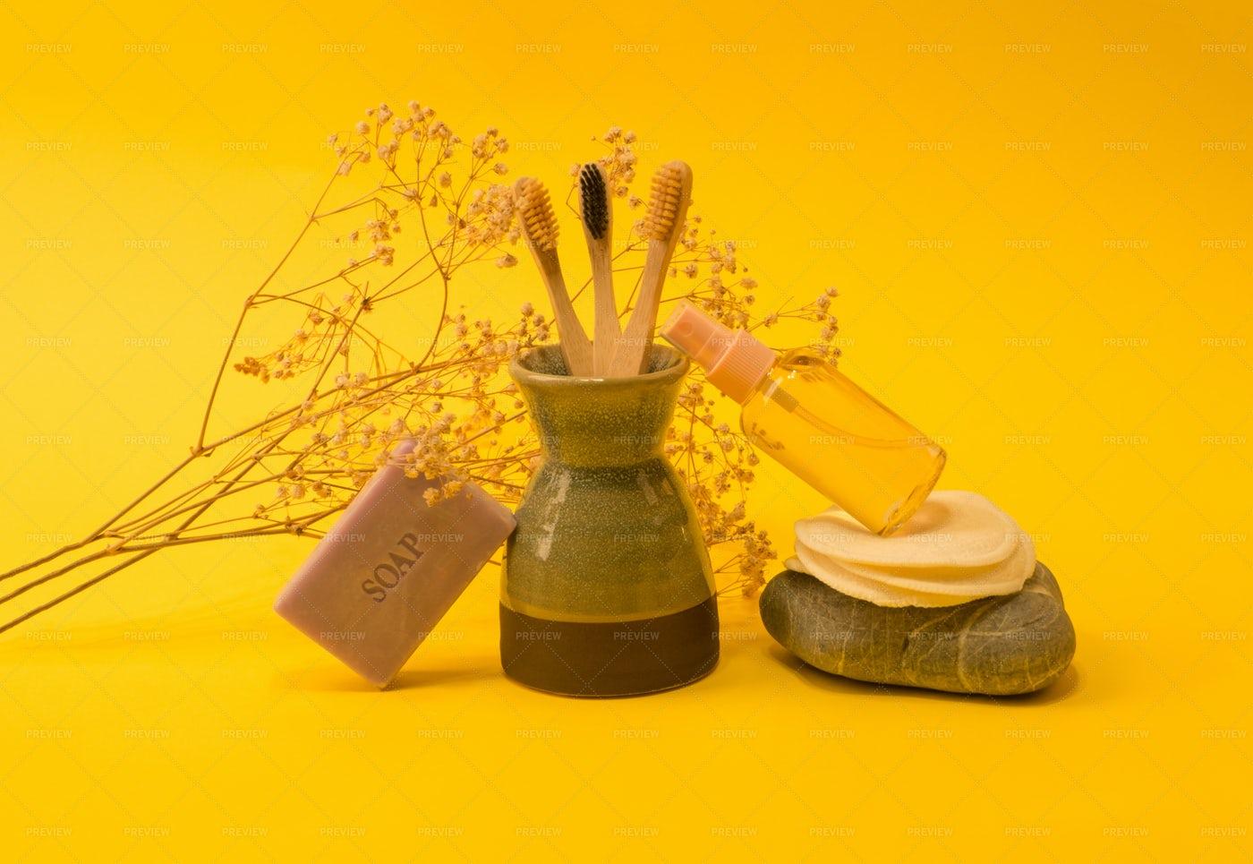 Zero Waste Beauty Products: Stock Photos