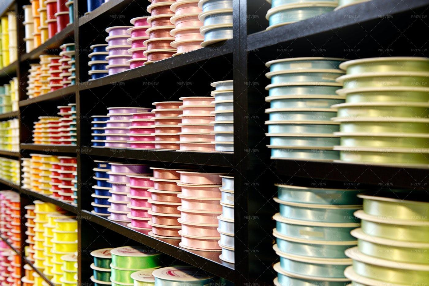Various Colored Ribbons: Stock Photos