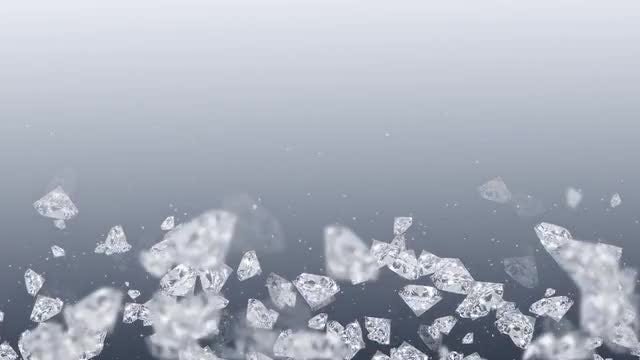 Pale Background With Diamonds: Stock Motion Graphics