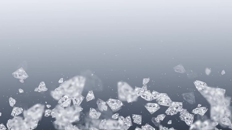 Pale Background With Diamonds: Motion Graphics