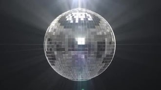 Disco Ball: Motion Graphics