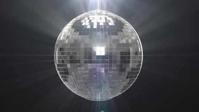 Disco Ball: Stock Motion Graphics