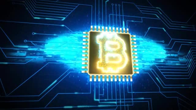 Bitcoin Currency: Stock Motion Graphics
