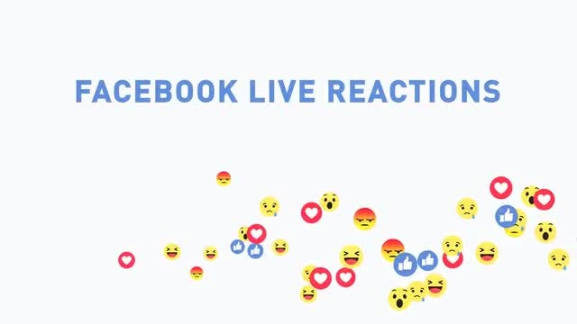 Facebook Live Reactions: Stock Motion Graphics
