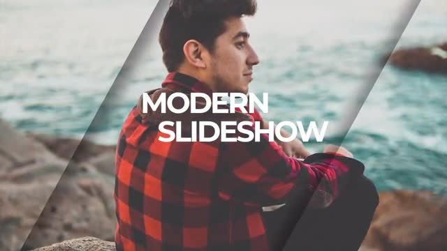 Clean Modern Slideshow: Premiere Pro Templates