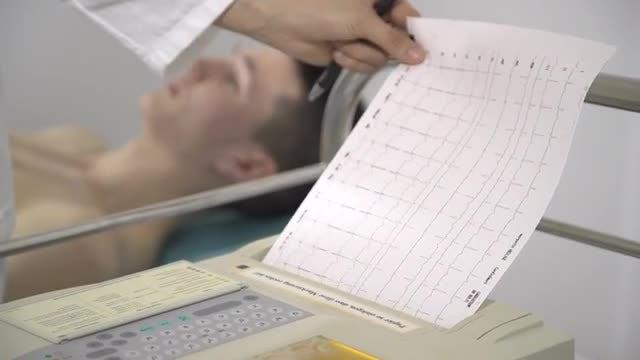 ECG: Stock Video