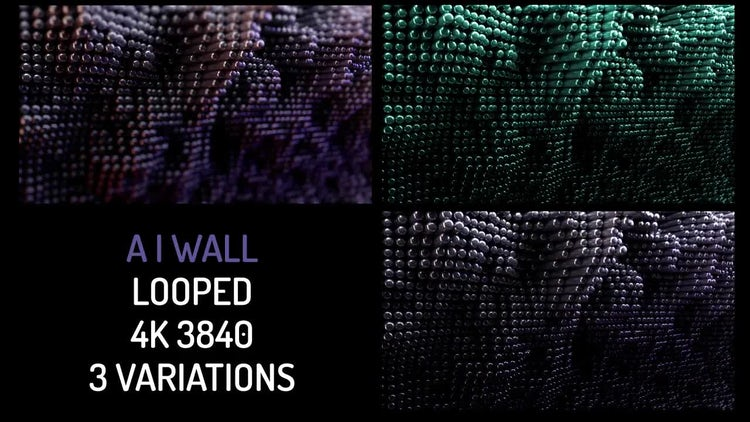 Technology Wall: Motion Graphics